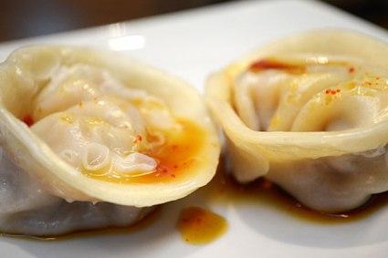 """""""Korean Empanadas"""" as presented by the owner. (Photo: Athena Feldshon)"""