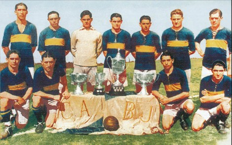 Boca Juniors circa 1919 (photo: Wikipedia)