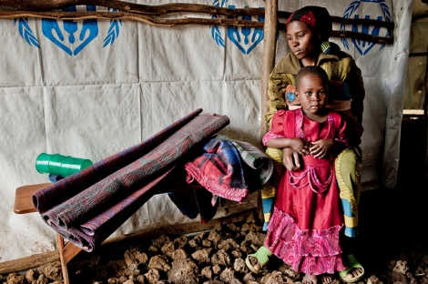 Women and children suffer the most from the DRC's ongoing violence.