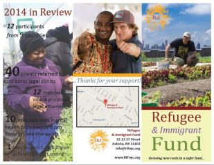 Refugee & Immigrant Fund Program Brochure