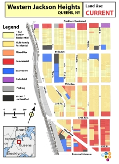 Western Jackson Heights - Current Land Use