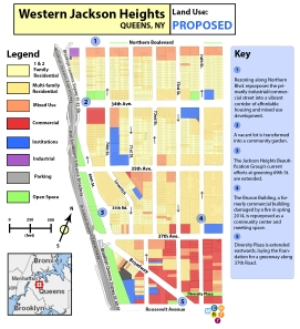 Western Jackson Heights - Proposed Land Use