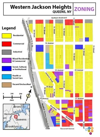 Western Jackson Heights - Zoning