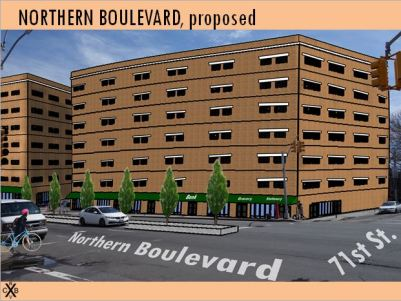 Northern Boulevard Proposed