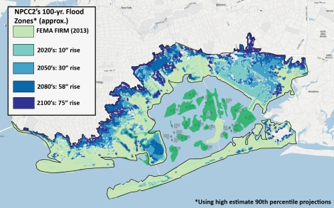 Sea level rise wo neighborhoods