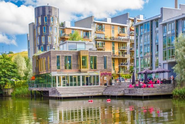 Hammarby sjöstad ecodistrict, Stockholm, Sweden. Image: NatGeo